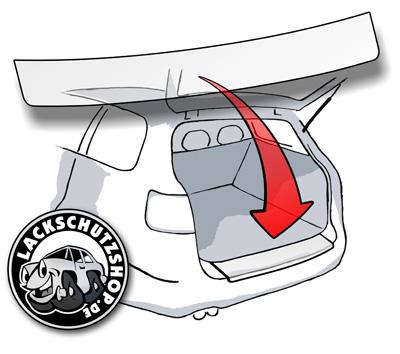 Lackschutzfolie Produkt Foto - Online Lackschutzfolien Ladekantenschutz Schutzfolie und Steinschlagschutzfolien kaufen